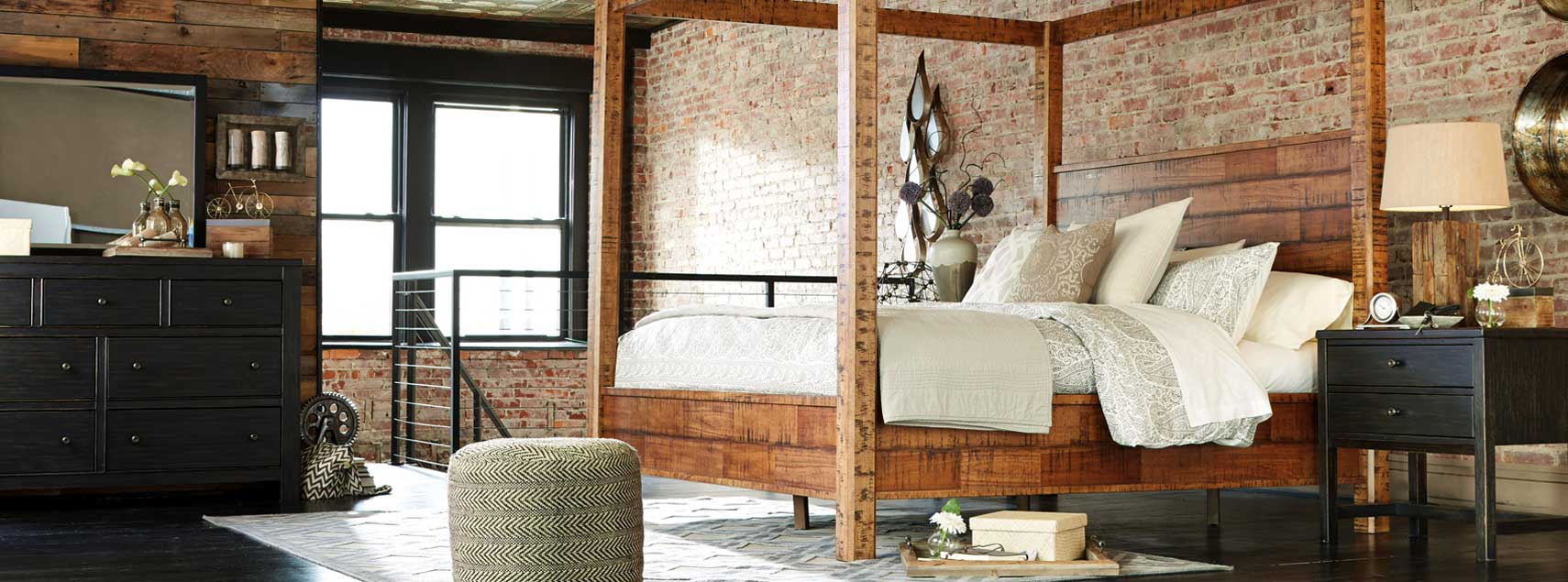 Urbanology is here ashley furniture homestore new - Ashley wilkes bedroom collection ...